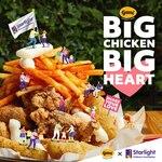 [VIC, NSW, ACT] Big Chicken Platter (Boneless) 1.2kg $68 @ Gami Chicken