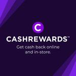 $10 Bonus Cashback with $30 or More Spend (Excludes eBay, CatchConnect, Gift Cards & 0% Merchants) @ Cashrewards