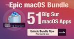 [Macos] Big Sur App Bundle - 51 Apps: Istat Menus US$6 (~A$7.75), CloudMounter US$3 (~A$3.88) & More + Unlock Price @ Bundlehunt