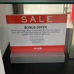 Hugo Boss Bottled EDP 100ml + Bonus Corporate Garment Bag $135 in-Store Only @ MYER