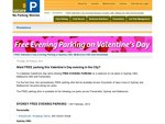 Free Evening Parking on Valentine's Day (Syd & Melb Only)