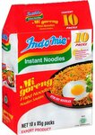 Indomie Mi Goreng 10P $2.99 (was $5.99) + $10 Delivery ($0 to Metro Melb with $50 Order) @ Happy Mart