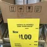 [QLD] Brown Hardwax Oil Interbuild $1 (Was $10) @ Bunnings, Burleigh Waters