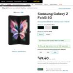 [Pre Order] Samsung Galaxy Z Fold3 or Flip3 on a Plan, Get Bonus Samsung Galaxy Watch4 (Valued $549) @Optus + Samsung Gift Pack