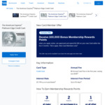 The American Express Platinum Edge Credit Card - 100,000 Bonus Rewards Points ($1,500 Spend in 3 Months), $0 Annual Fee 1st Year