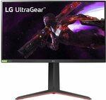 "LG UltraGear 27GP83B-B 27"" QHD NANO IPS 165hz 1ms HDR FreeSync Monitor $579 Delivered @ Amazon AU"