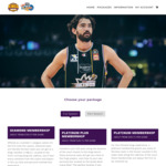 [NSW] Sydney Kings: 4 Game Membership for The Price of 3 (Adult Gold Starting $99, Adult Platinum $219) + Admin Fees