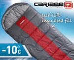 Caribee Snow Drift Jumbo Sleeping Bag -10 Degrees Only AUD$39.95 (from AUD$99.99)