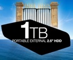 """[COTD] Mystery Brand 1TB 2.5"""" Portable Hard Drive USB3.0 $119.95 + Free Shipping!"""