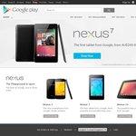 Google's Nexus 7 Wi-Fi 16GB $249, 32GB $299; Nexus 4 8GB $349, 16GB $399, Nexus 10 16GB $469, 32GB $569