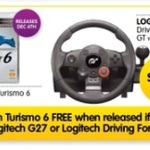 Free Copy of GT6 When You Buy an Logitech Driving Force GT or Logitech G27 @ DSE