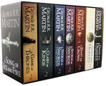 Game of Thrones (A SONG OF ICE & FIRE) 7 Book Set - $54 - 800 Sets Available - eBay Group Deal