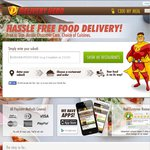 Delivery Hero $6 off Delivery Orders (Minimum $20) This Weekend