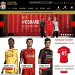 Liverpool FC European Draw Special - Free Worldwide Delivery