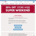 20% off Contacts Lenses, Glasses, & Sunglasses This Weekend @ OPSM Online + Free Post