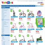 """Toys """"R"""" Us - Biketober Sale - Bikes from $79.99"""