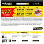 $20 off When You Spend $99-$299 at Dick Smith