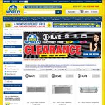 ILVE Clearance - Carton Damaged, Run Out, Factory Seconds with full ILVE Warranty - 2nds World