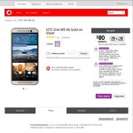 Vodafone - HTC One M9 $95/Month ($70 + $25) 12-Month Contract