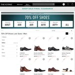 THE ICONIC 70% off Last Size Shoes - until Stock Lasts