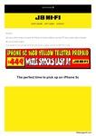iPhone 5C Yellow 16GB - $449 @ JB Hi-Fi