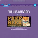 Free Beer Battered Fries w/ Purchase of Burger at Burger Fuel [Syd, Bne, GC]