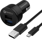 Tronsmart QC 2.0 2-Port USB Car Charger ~$13AU & 3-Port QC 2.0 Wall Charger ~$20AU @ Geekbuying