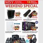 SanDisk Extreme SDCZ80 64G USB3.0 $33 / Logitech G930 Headset $125 @ MSY