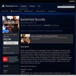 Battlefield 4 + Battlefield Hardline [PS4] on PSN AU $32.40 (PS+ Required)