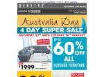 Domayne Australia Day Sale