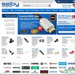 15% off All Selby - Excludes Projectors Cinemascope Screens