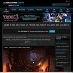 TRINE 3 50% Steam Discount Key Giveaway (USD $11/~AUD $15.65) @ Alienware Arena