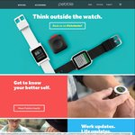 Pebble Time $99US ($134AU), from Pebble Store, Free Postage (iPhone App Required)