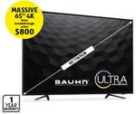 "Bauhn 65"" Ultra HD LED TV $799.00 @ ALDI 17/9"
