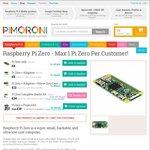 Raspberry Pi Zero - $14.79 Shipped @ Pimoroni