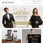 25% off Selected Items at David Jones