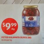 Kalamata Pitted Olives 2kg $9.99 @ ALDI 1/3