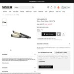 65% off VS Sassoon Hair Waver with 2 Yrs Warranty @ $16.95 MYER