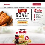 Red Rooster - BOGOF Classic Quarter With Red Royalty App