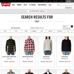 Levi's End of Season Sale - Jeans from $79. 30% off Selected Tops. Free Shipping Storewide