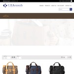 30% off Barber Shop Handcrafted Italian Camera Bags & Accessories At C.R. Kennedy With Free Delivery