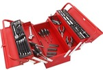 Millers Falls Tool Kit with Metal Cantilever Toolbox (Red) - 130 Piece $60 Free Delivery @ Supercheap Auto