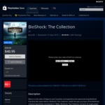 [Digital Download] [PS4] BioShock: The Collection @ AU PSN for $40.95 and other AU PSN deals