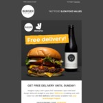 [QLD/NSW/VIC] Burger Project FREE Order Delivery @ Deliveroo