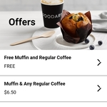 FREE Small Coffee & Muffin at The Foodary (Phone App Required)
