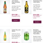 Monteith Crushed Apple Cider 10 Pack $16 @ Dan Murphy's [October Member Specials]