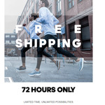 Free Shipping Sitewide for 72 Hours (3 Days) on adidas.com.au