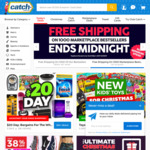 Free Shipping on Selected (2000) Items @ Catch (Ends Midnight) No Minimum Spend