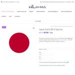 Japan Pocket Wi-Fi Rental Early Bird $5.50/Day @ Wilh-ma