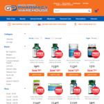 1/2 Price Vitamin Sale + Free Shipping ($20 Minimum Spend) @ Good Price Pharmacy Warehouse